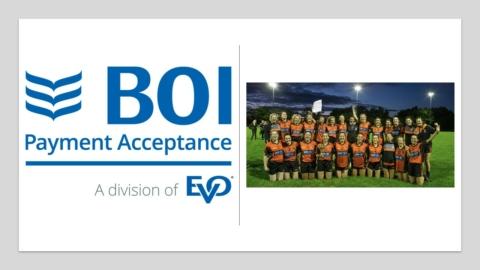 BOI Payment Acceptance Sponsorship for BSJ Senior Ladies Football Team