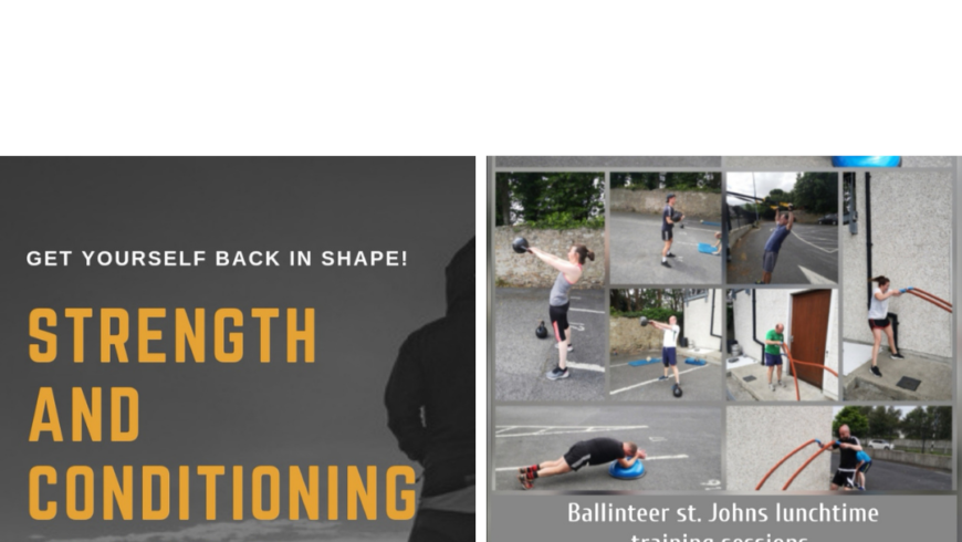 Work it all Out at Ballinteer St Johns this Summer